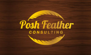 pap-krast-creations-corporate-identity-brand-design-client-posh-feather-consulting-logo